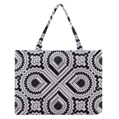 Pattern Tile Seamless Design Medium Zipper Tote Bag by Amaryn4rt