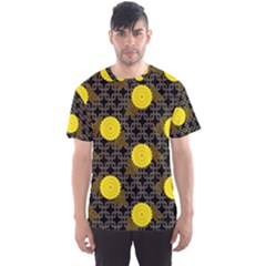 Sunflower Yellow Men s Sport Mesh Tee by Alisyart