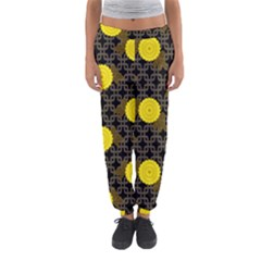 Sunflower Yellow Women s Jogger Sweatpants