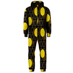 Sunflower Yellow Hooded Jumpsuit (men)