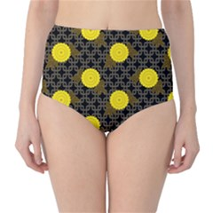 Sunflower Yellow High Waist Bikini Bottoms