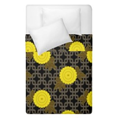 Sunflower Yellow Duvet Cover Double Side (single Size)