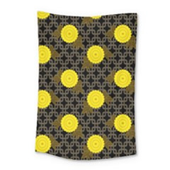Sunflower Yellow Small Tapestry