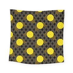 Sunflower Yellow Square Tapestry (small)