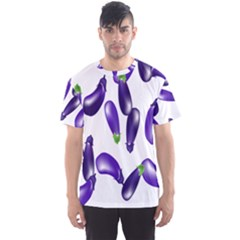 Vegetables Eggplant Purple Men s Sport Mesh Tee by Alisyart