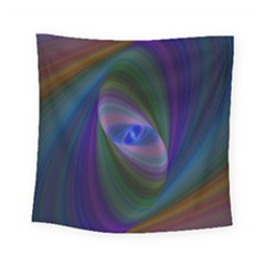 Ellipse Fractal Computer Generated Square Tapestry (small) by Amaryn4rt