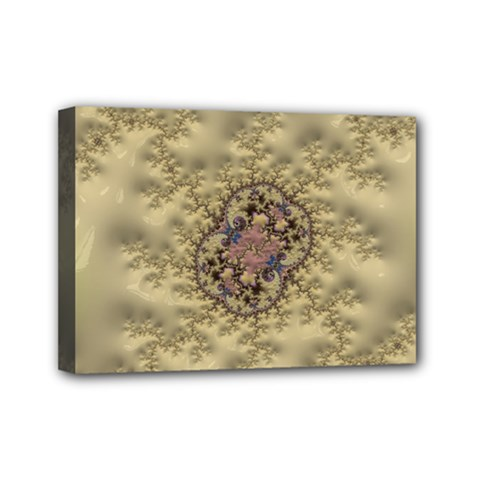 Fractal Art Colorful Pattern Mini Canvas 7  X 5  by Amaryn4rt
