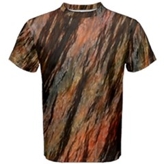 Texture Stone Rock Earth Men s Cotton Tee