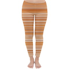 Line Brown Classic Winter Leggings
