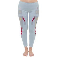 Machine Engine Robot Classic Winter Leggings