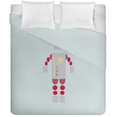 Machine Engine Robot Duvet Cover Double Side (california King Size)