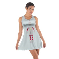 Machine Engine Robot Cotton Racerback Dress