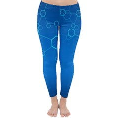 Molecules Classic Medicine Medical Terms Comprehensive Study Medical Blue Classic Winter Leggings