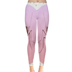 Mosquito Pink Insect Blood Classic Winter Leggings