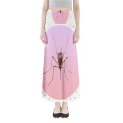 Mosquito Pink Insect Blood Maxi Skirts