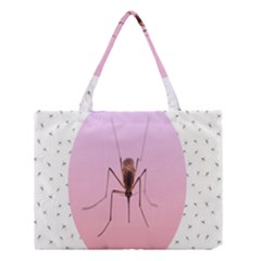 Mosquito Pink Insect Blood Medium Tote Bag