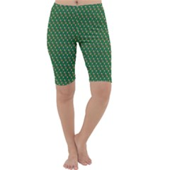 Candy Green Sugar Cropped Leggings