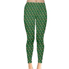 Candy Green Sugar Classic Winter Leggings