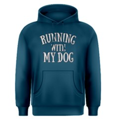 Running With My Dog   Men s Pullover Hoodie