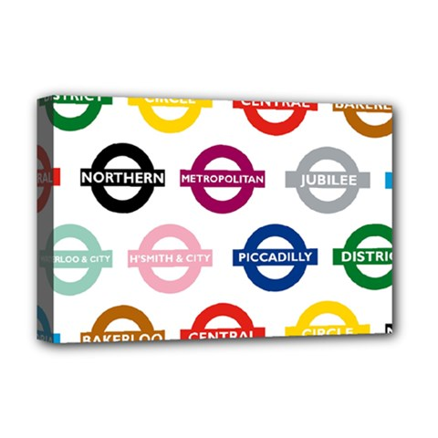 Underground Signs Tube Signs Deluxe Canvas 18  X 12