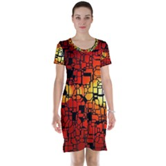 Board Conductors Circuits Short Sleeve Nightdress