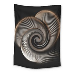 Abstract Background Curves Medium Tapestry by Amaryn4rt