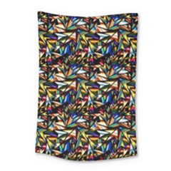 Abstract Pattern Design Artwork Small Tapestry