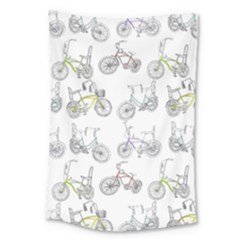 Bicycle Bike Sport Large Tapestry