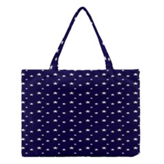 Blue Star Medium Tote Bag