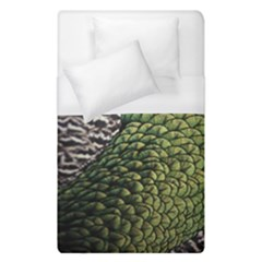 Bird Feathers Green Brown Duvet Cover (single Size)