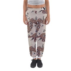 Camouflage Army Disguise Grey Brown Women s Jogger Sweatpants