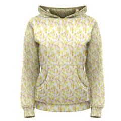 Branch Spring Texture Leaf Fruit Yellow Women s Pullover Hoodie