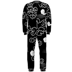 Cloud Black Night Onepiece Jumpsuit (men)
