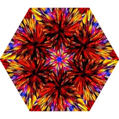 Color Batik Explosion Colorful Mini Folding Umbrellas
