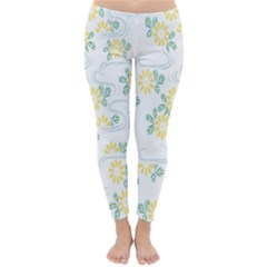 Flower Arrangements Season Sunflower Classic Winter Leggings