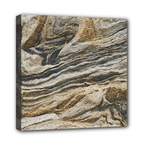 Rock Texture Background Stone Mini Canvas 8  X 8