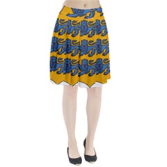Lesser Arms Of Estonia  Pleated Skirt