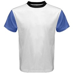 Is Blue Is White Men s Cotton Tee by zippp