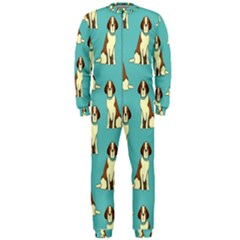 Dog Animal Pattern Onepiece Jumpsuit (men)  by Amaryn4rt