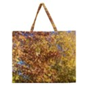 Bright Autumn Tree Zipper Large Tote Bag View1