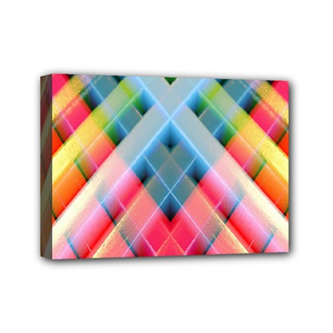 Graphics Colorful Colors Wallpaper Graphic Design Mini Canvas 7  X 5  by Amaryn4rt