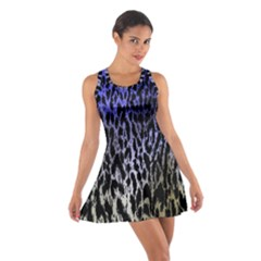 Fabric Animal Motifs Cotton Racerback Dress