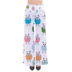 Sheep Cartoon Colorful Pants by Amaryn4rt