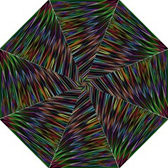 Texture Colorful Abstract Pattern Folding Umbrellas by Amaryn4rt