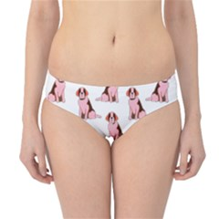 Dog Animal Pattern Hipster Bikini Bottoms