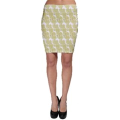 Waves Flower Bodycon Skirt by Alisyart