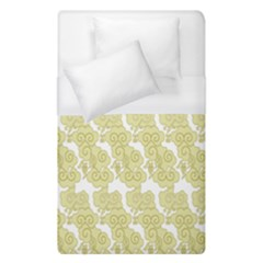 Waves Flower Duvet Cover (single Size) by Alisyart