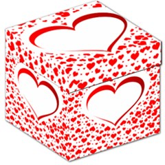 Love Red Hearth Storage Stool 12   by Amaryn4rt