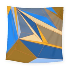 Abstract Background Pattern Square Tapestry (large)