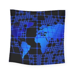 Network Networking Europe Asia Square Tapestry (small)